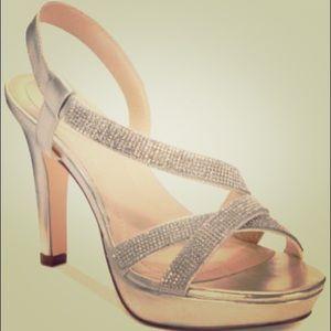 Style & Co Sandrah Rhinestone Embellished Heels 👡